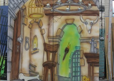 Jack and the Beanstalk backdrop
