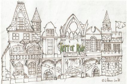 Terror Castle design visual