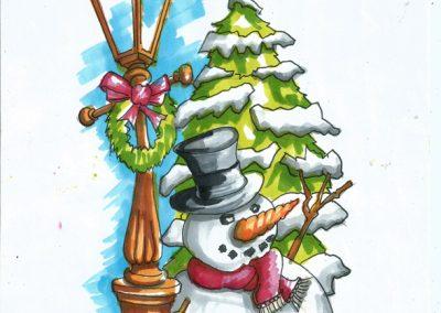 sooty snowman