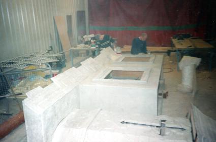 Fibreglass panels