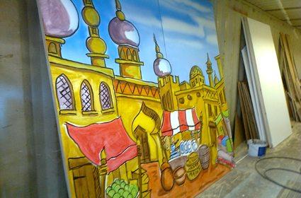 Aladdin Backdrop