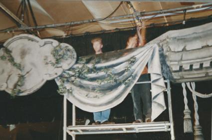 Building the proscenium